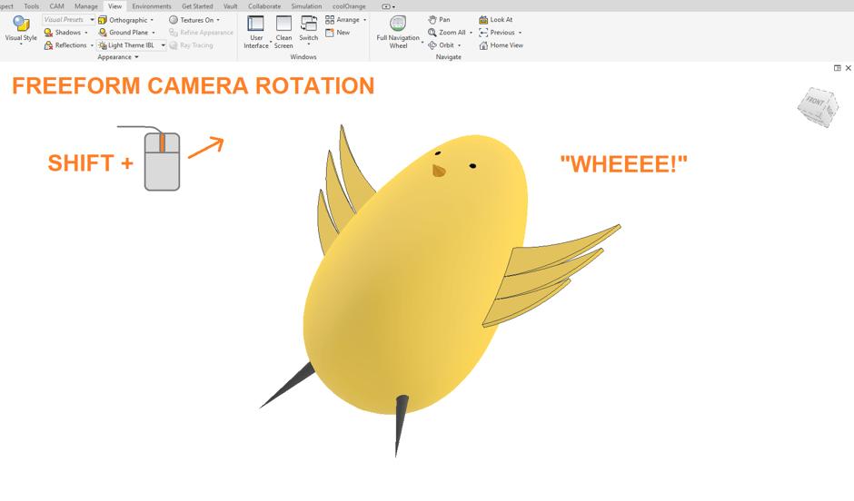 Freeform Camera Rotation
