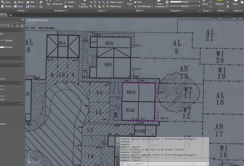 Using PDF Underlay in AutoCAD