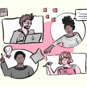 Future of working illustration