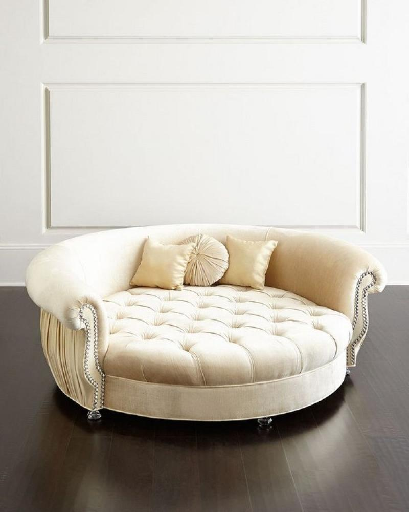 Modern Tufted Dog Bed