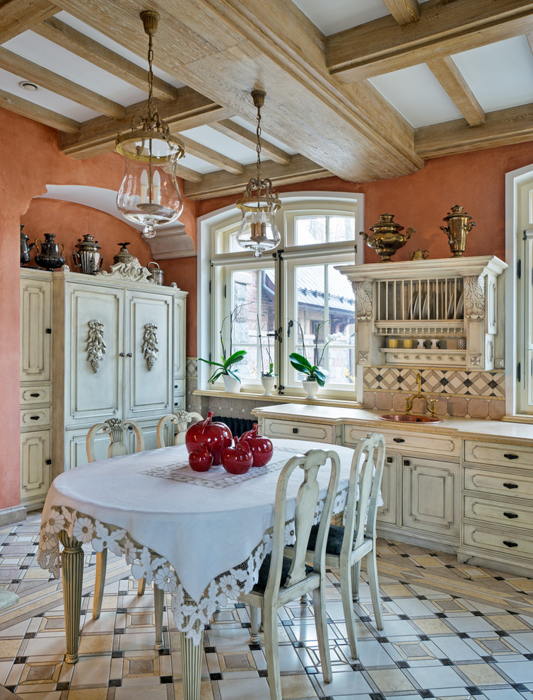 Shabby-Chic Kitchen Design