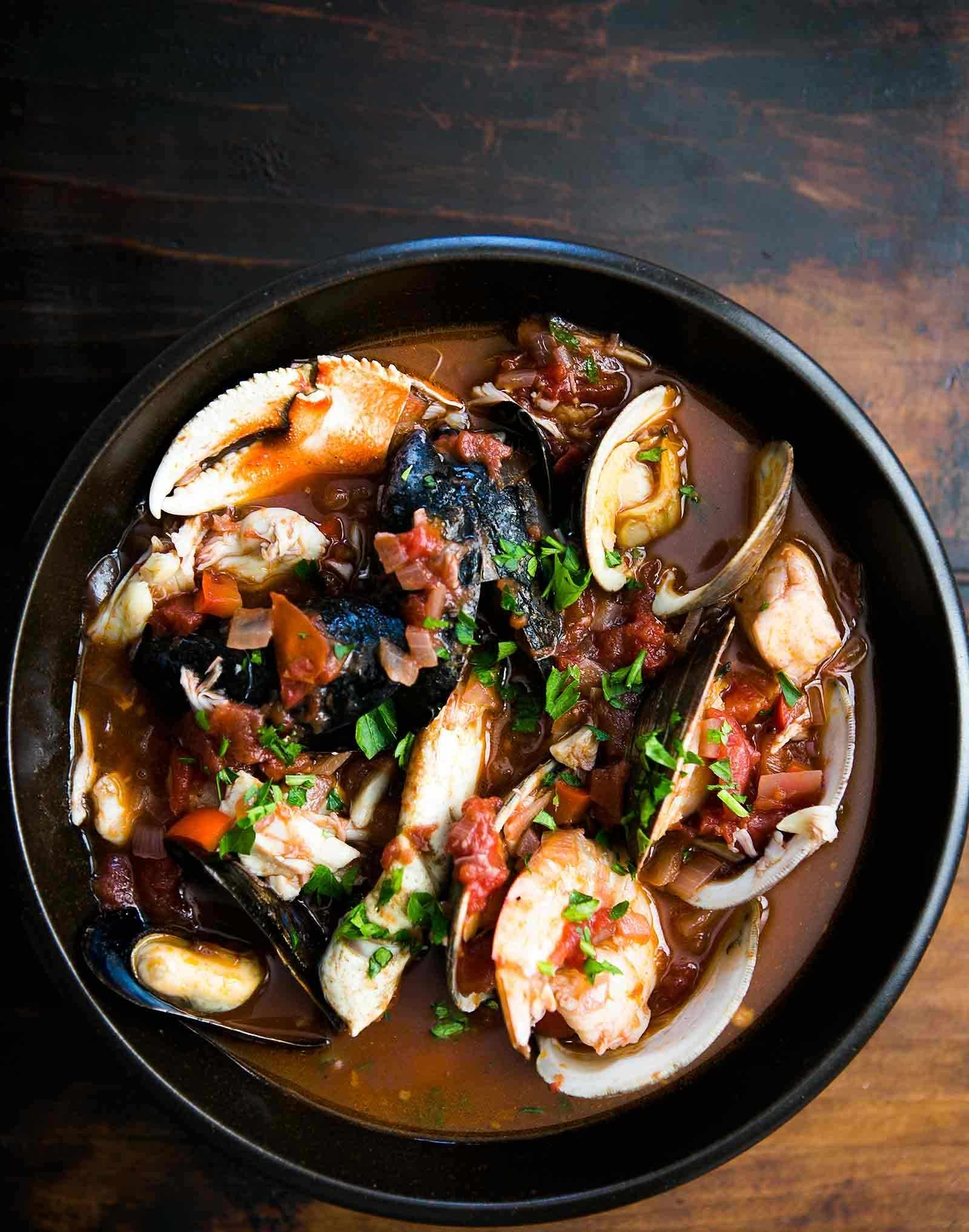 Cioppino Fish Recipe