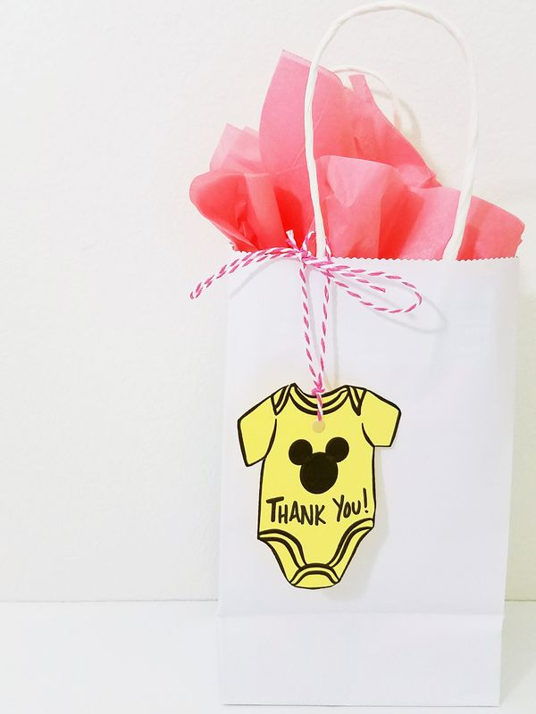 DIY Mickey Mouse Baby Shower