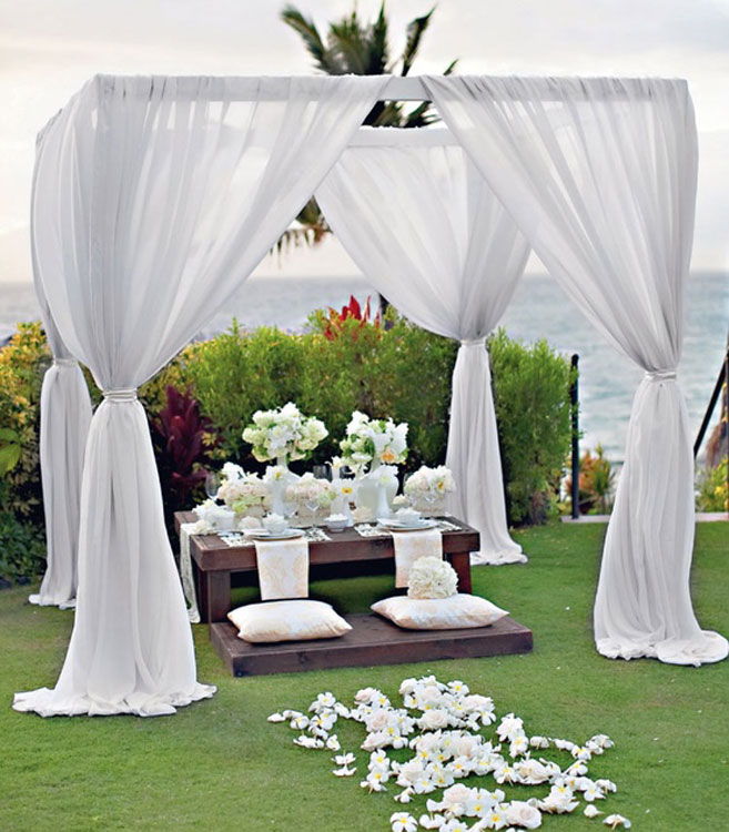 Outdoor Wedding Decoration beautifulfeed (4)