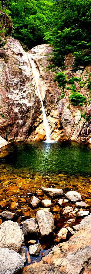 Biryong Waterfall, South Korea
