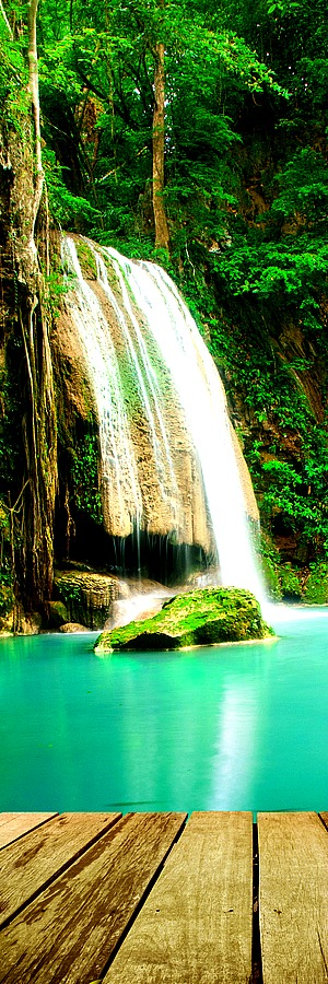 Erawan Waterfall, Thailand