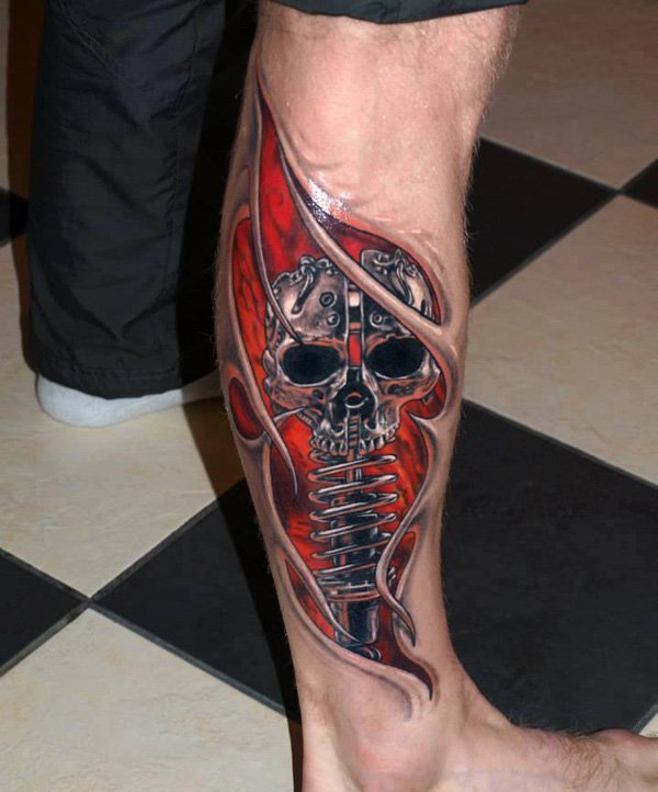 3D Tattoo Design beautifulfeed (16)