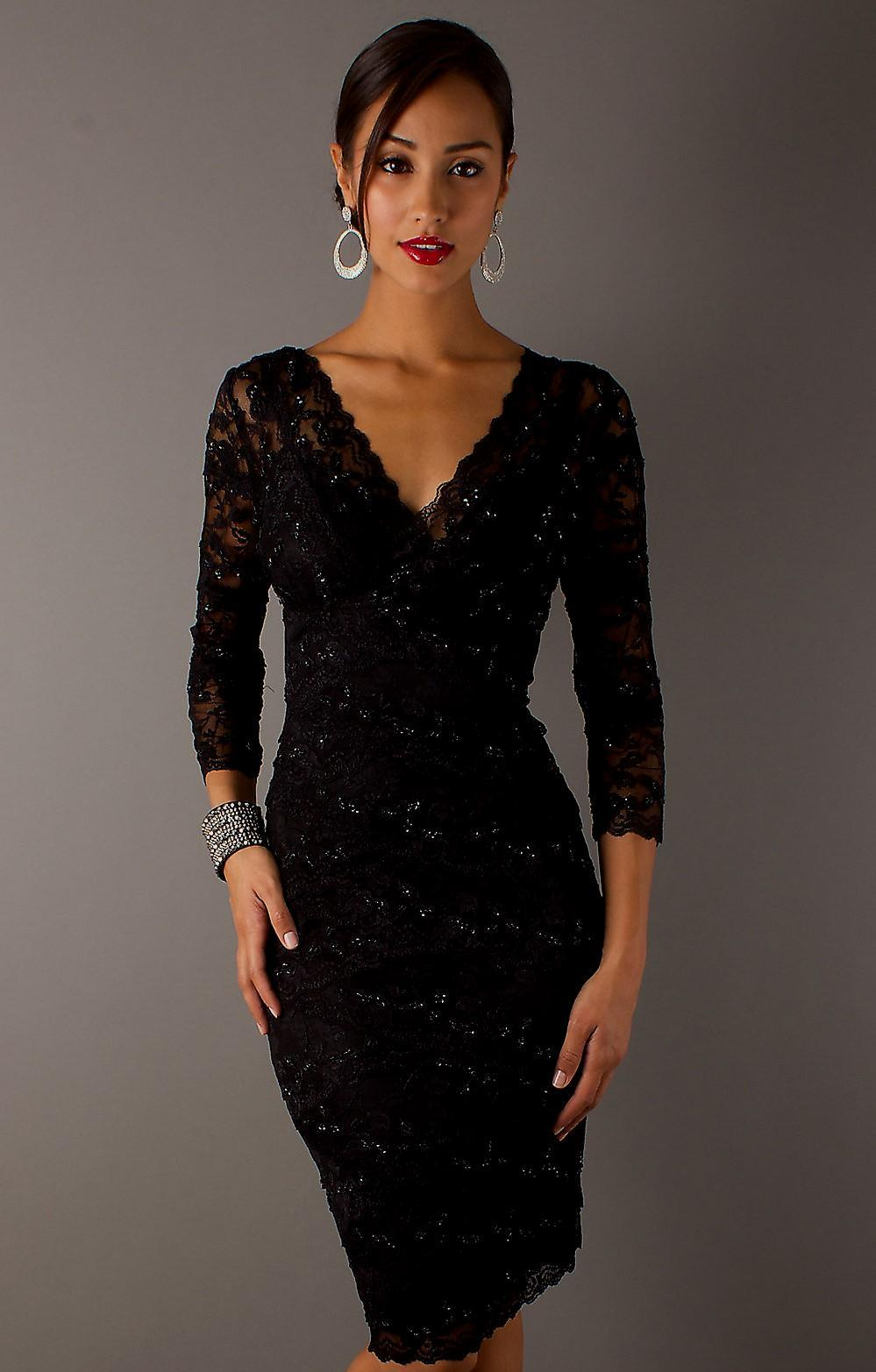 Elegant Black Cocktail Dresses Beautifulfeed