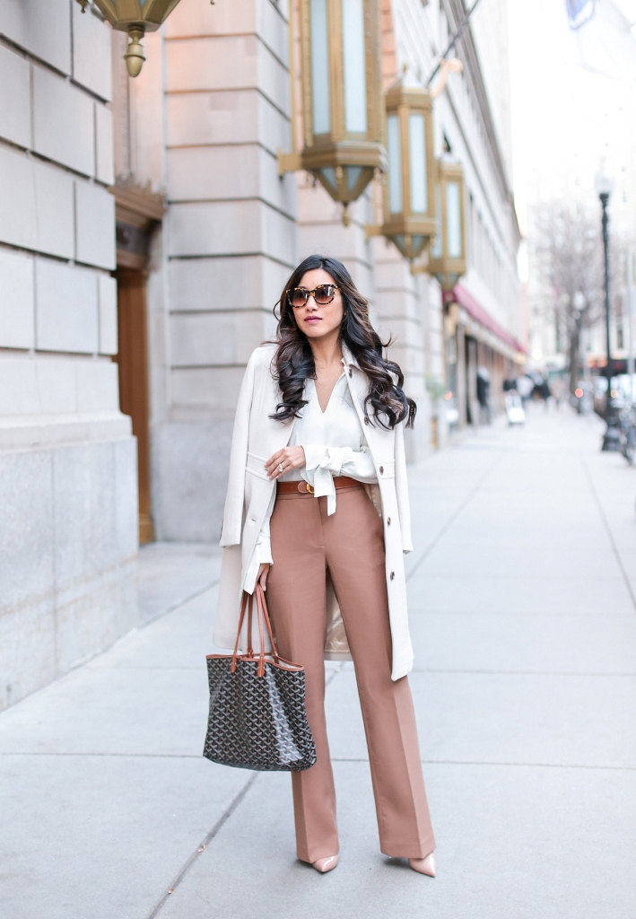 Long Layers & Bow Sleeve Blouse Beautifulfeed