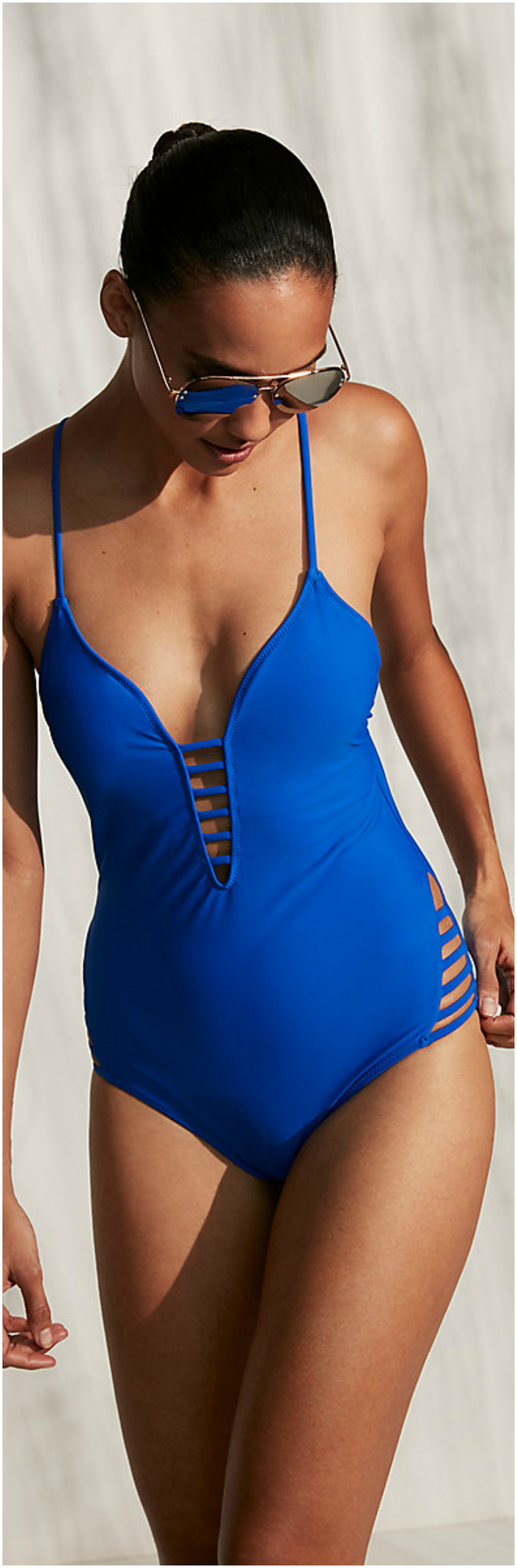 Strappy One-piece Swimsuit Beautifulfeed
