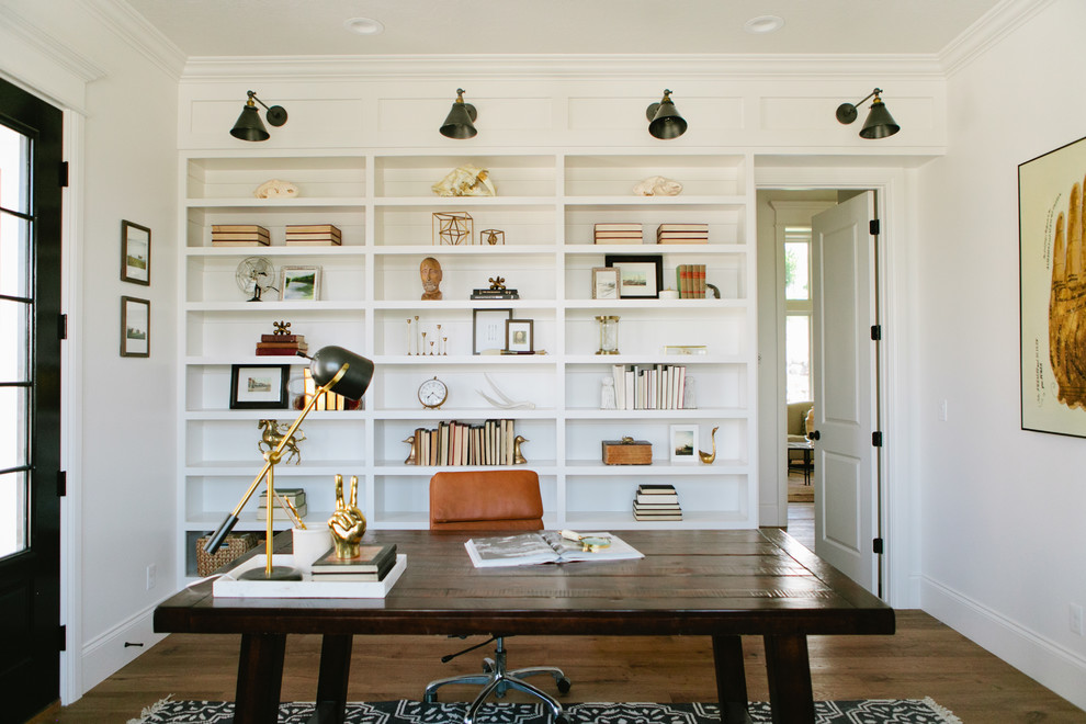 Farmhouse Style Home Office Ideas