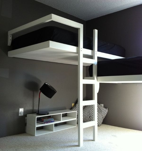 Loft Bunk Beds Beautifulfeed