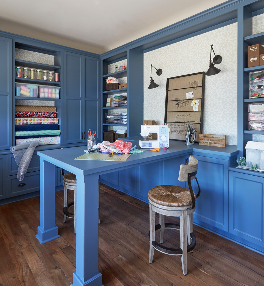 Transitional Style Home Office
