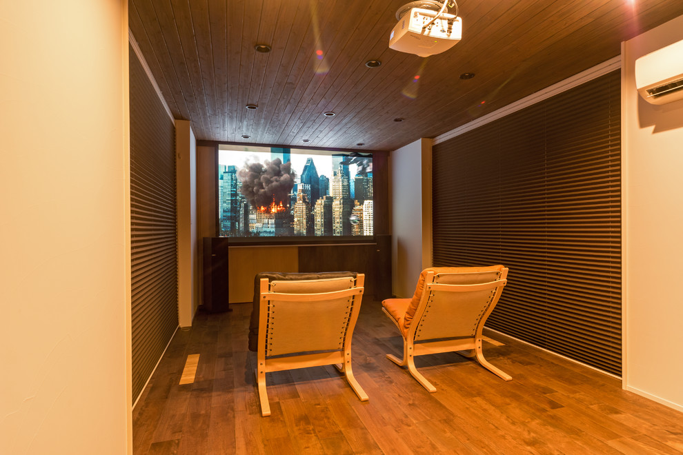 Asian Style Home Theater