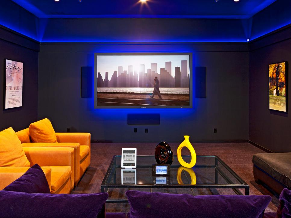 Garage To Home Theater Transformation