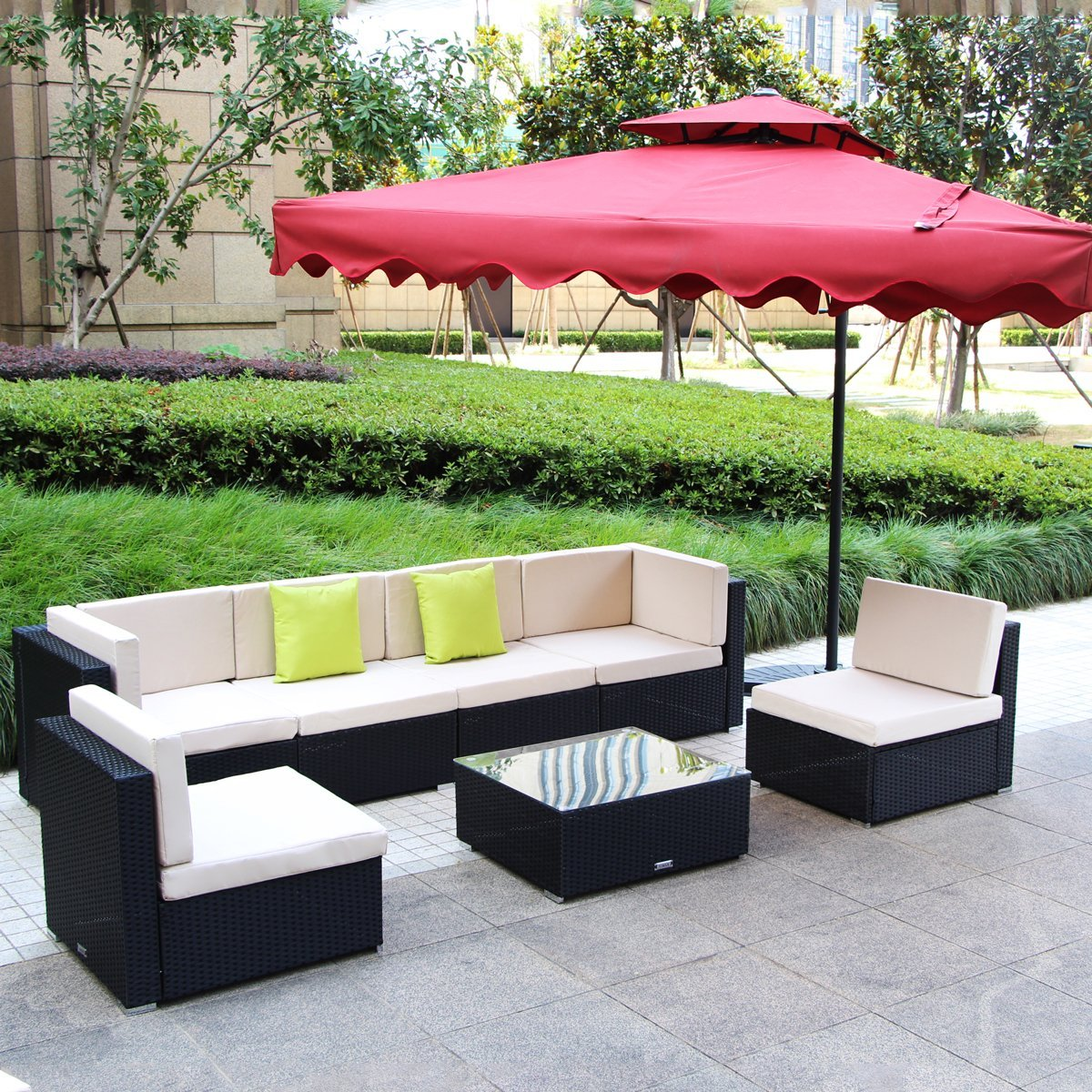 Outdoor Wicker Furniture Designs