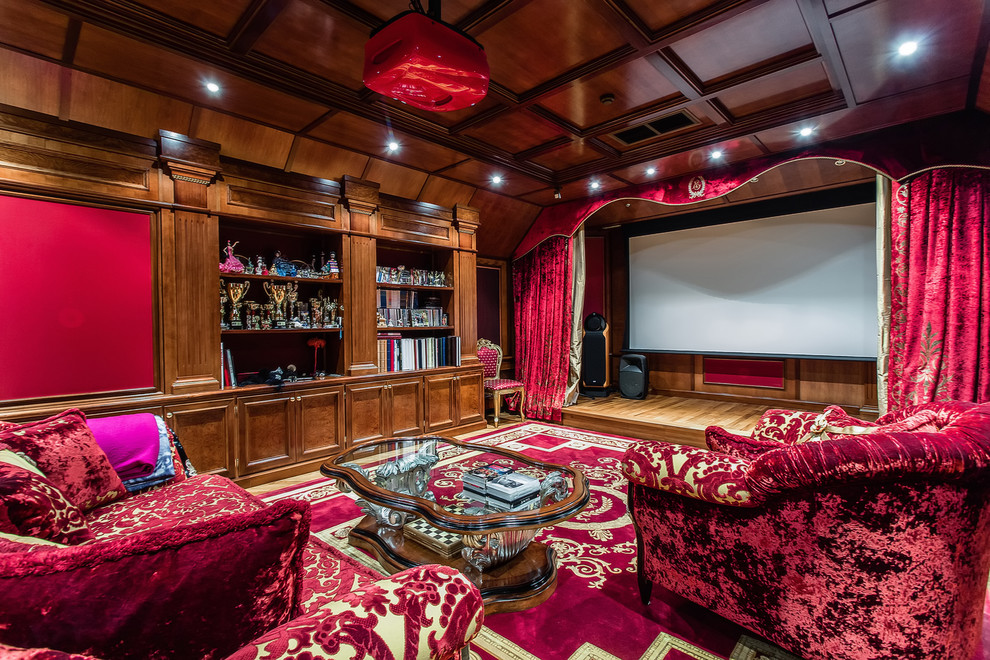 Traditional Style Home Theater