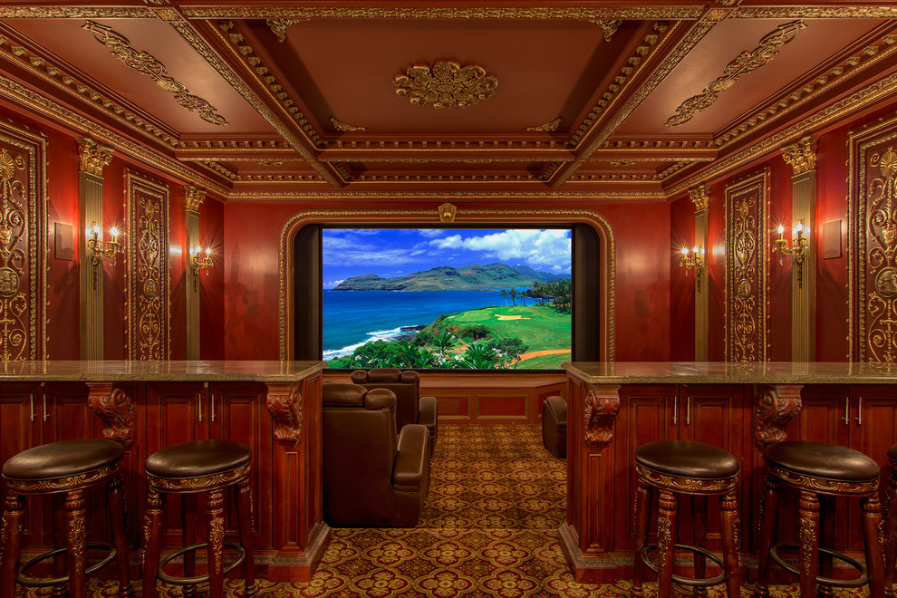Victorian Style Home Theater
