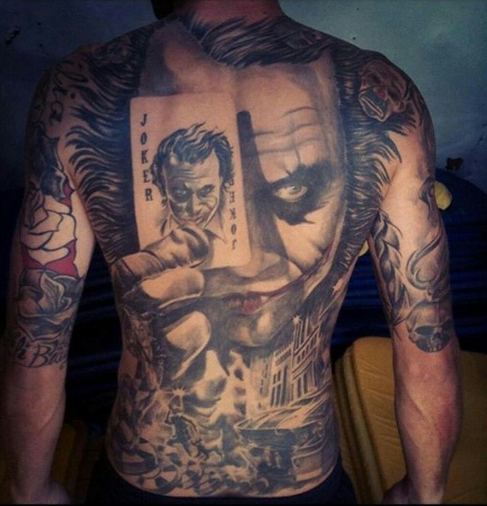 Joker Tattoo