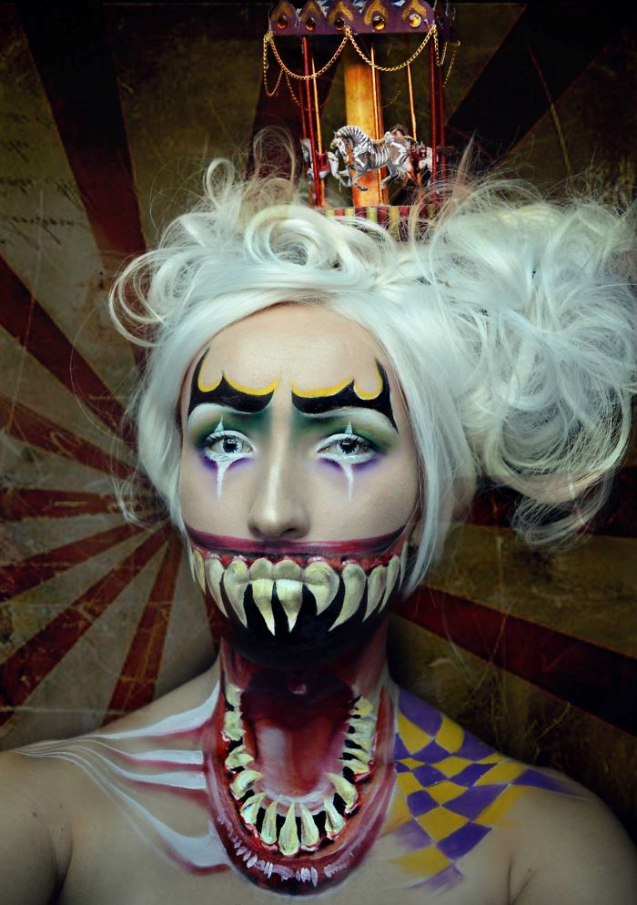 Clown Makeup (10)