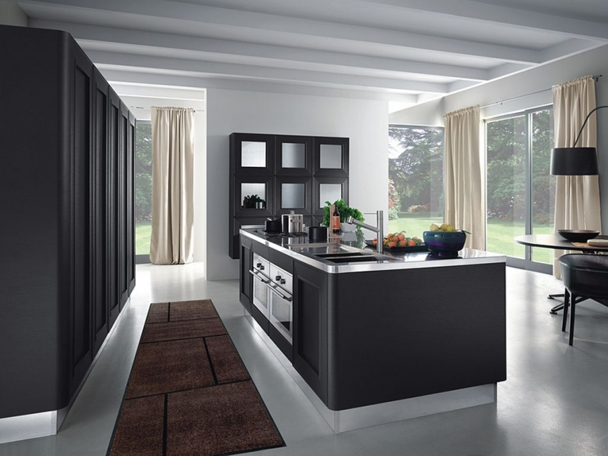 Contemporary Kitchen Cabinet (8)