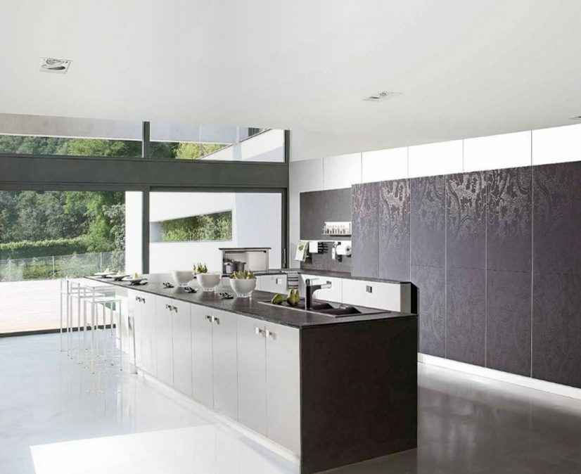 Contemporary Kitchen Cabinet (9)