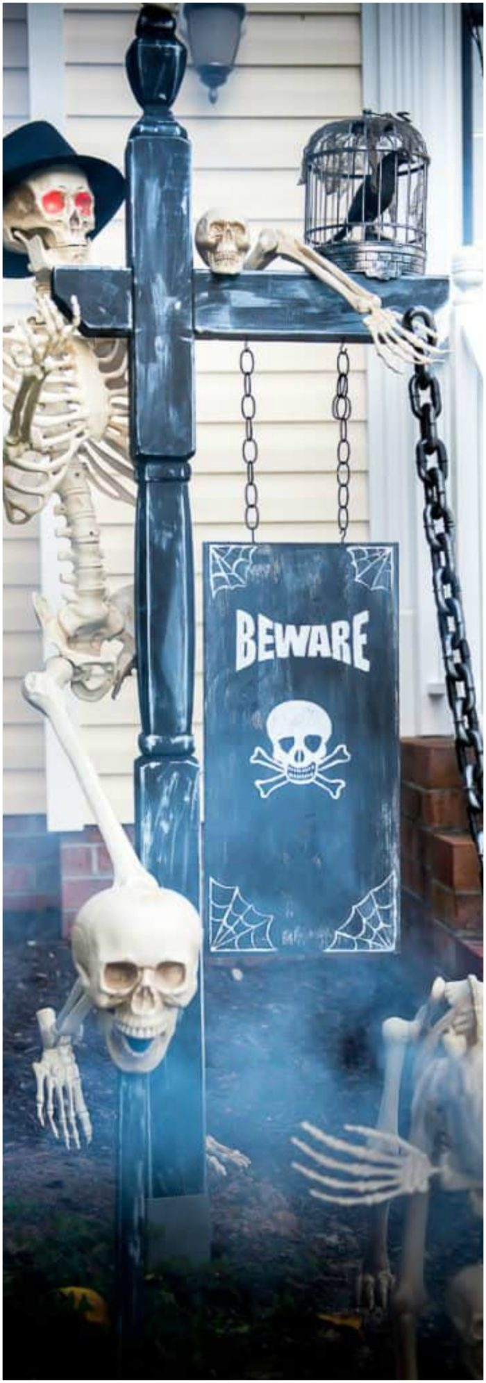 Halloween Front Yard Decor Ideas