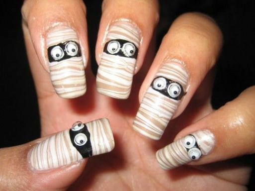 easy nail designs for beginners with short nails Elegant Halloween Nail Designs Short Nails Cute P1I