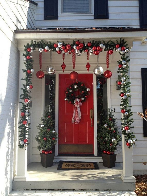 outdoor christmas decorating ideas front porch Luxury 25 Top outdoor Christmas decorations on Pinterest