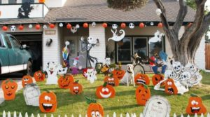 20 Scary Outdoor Halloween Decor Ideas