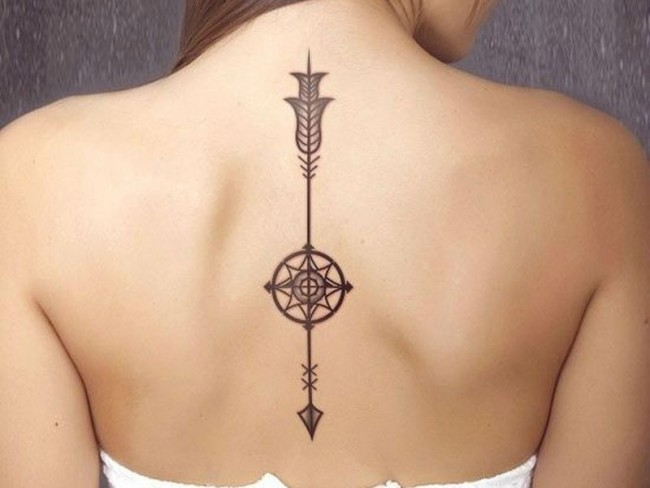 Spine Tattoo (18)