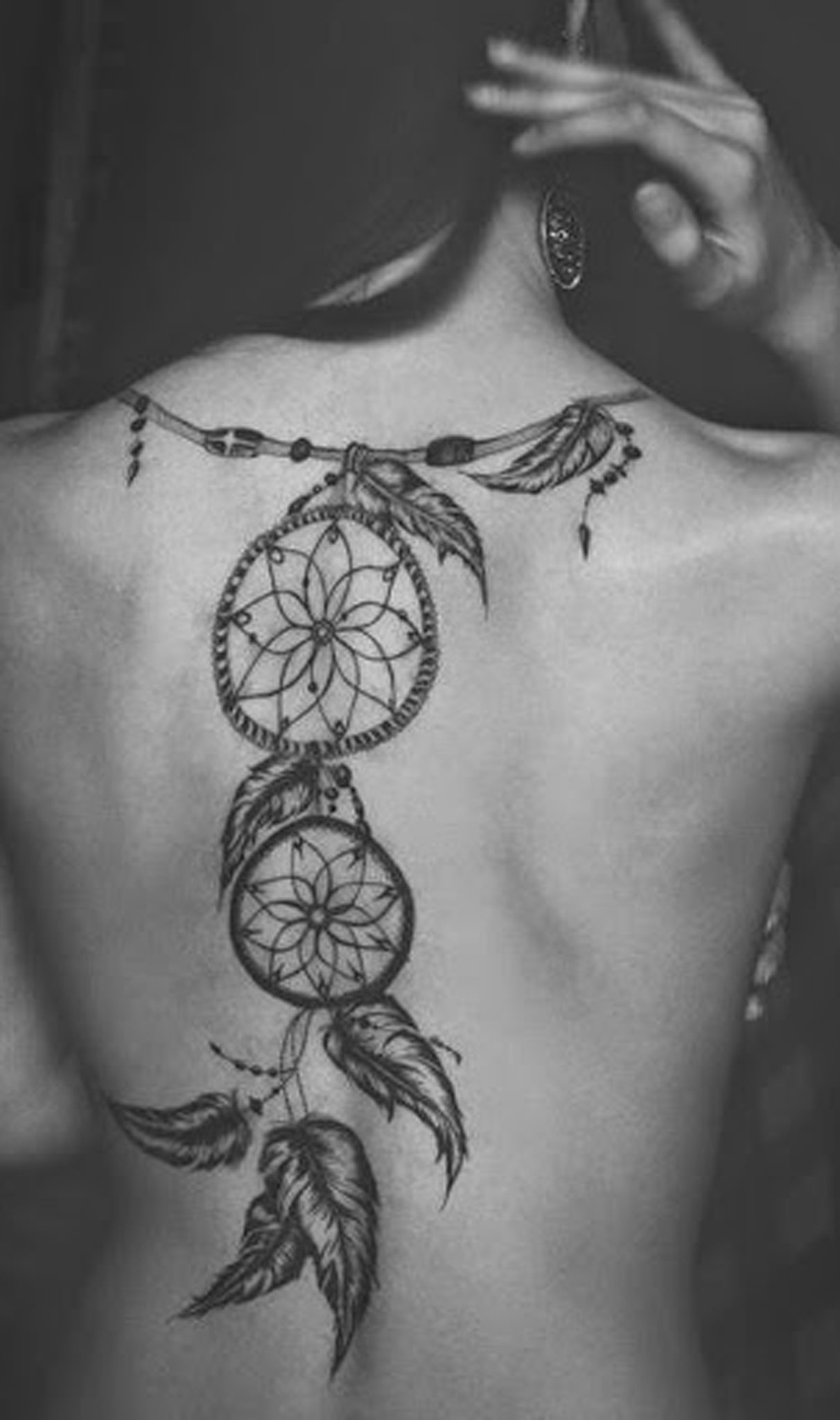Spine Tattoo (3)