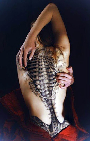 Spine Tattoo Ideas (8)