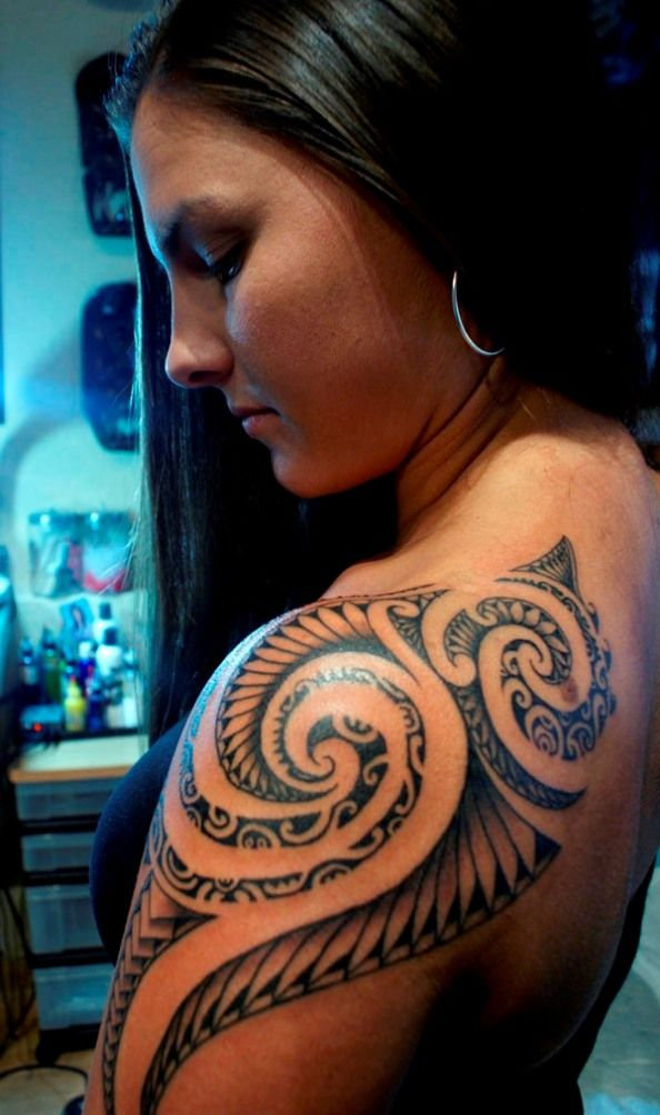 Traditional Polynesian Tattoo (5)