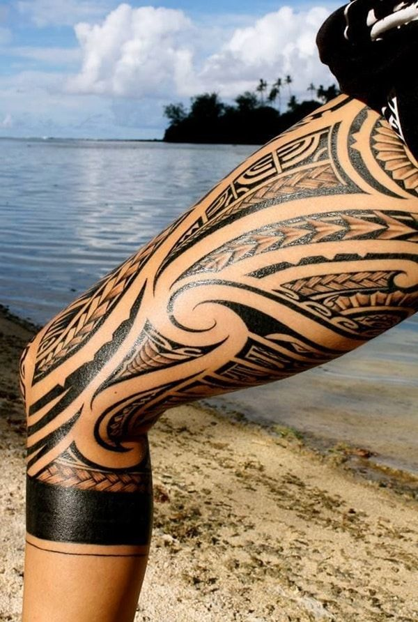 Traditional Polynesian Tattoo (8)