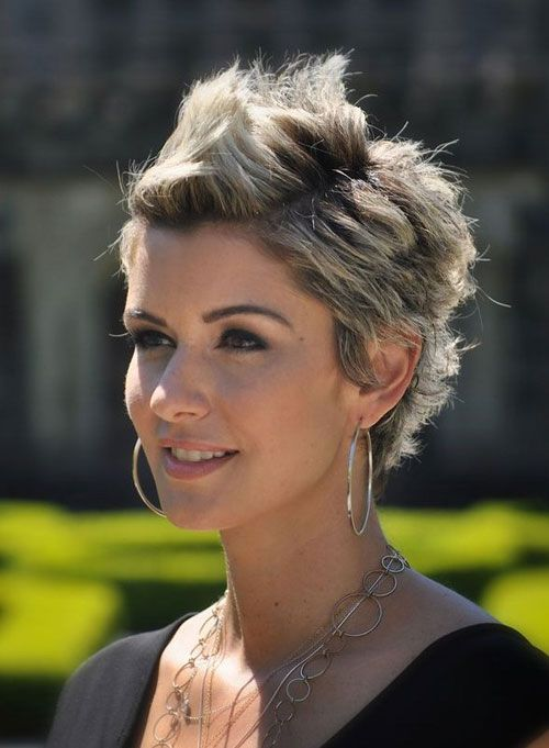 Two-toned Spiky Short Haircut