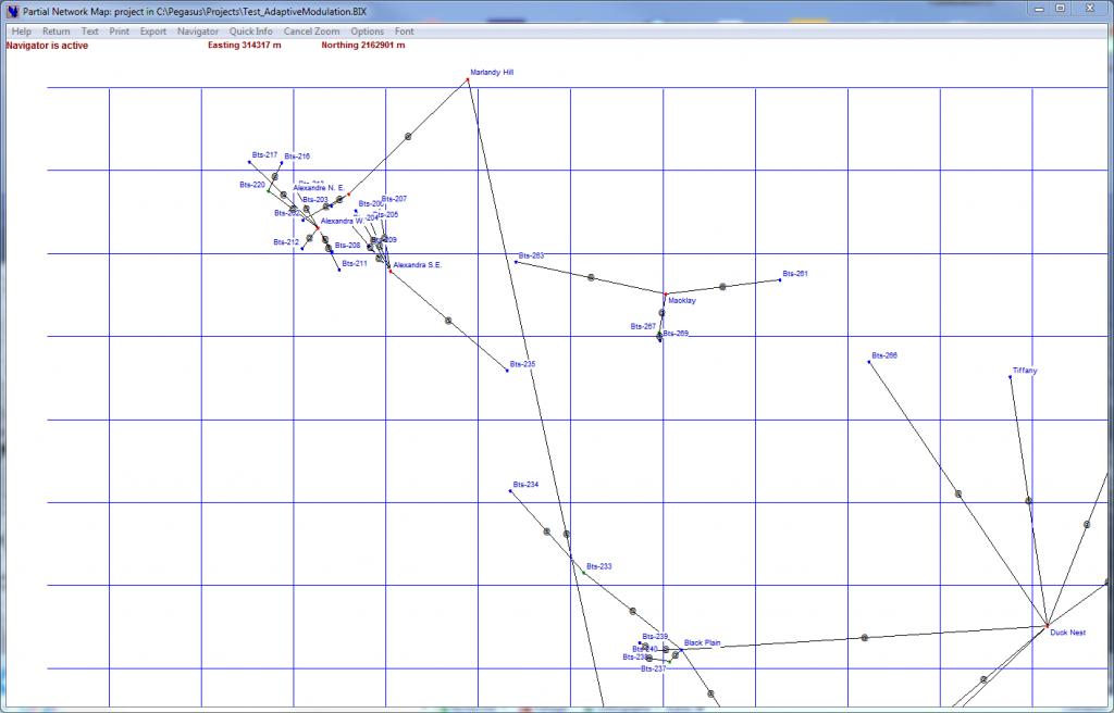 Netwok Map navigator