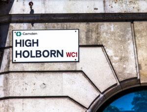 High Holborn Sign
