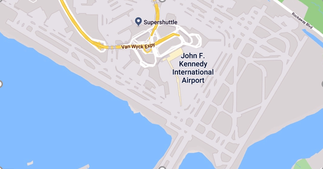 JFK layout apron taxiways