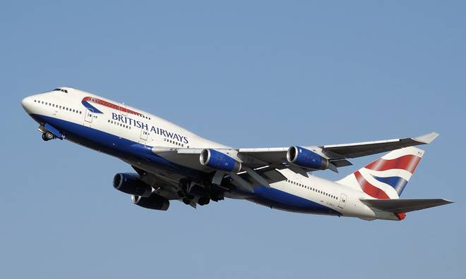 British airline base