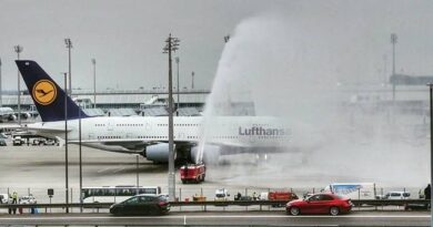 water salute aviation