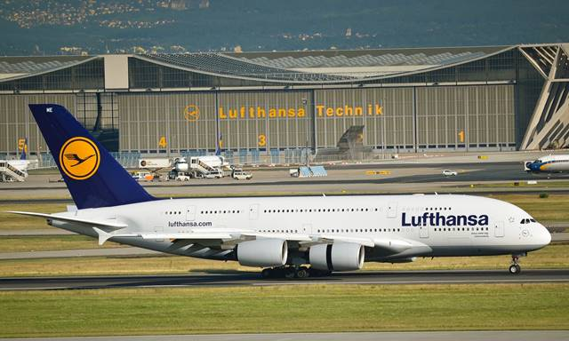 Frankfurt plane spotting
