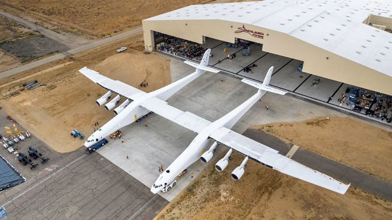 biggest airplanes stratolaunch