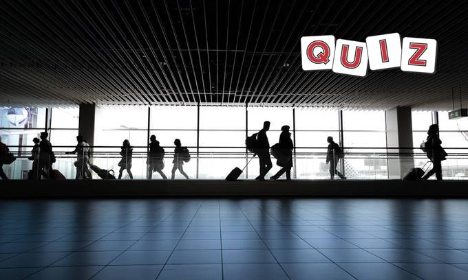 ICAO codes, aviation quiz