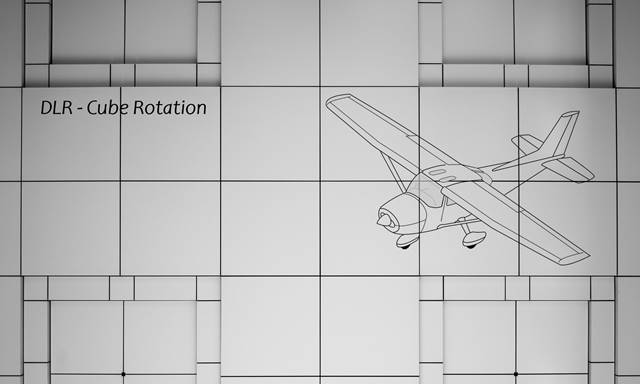 DLR cube rotation