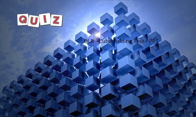 DLR - cube folding PPT
