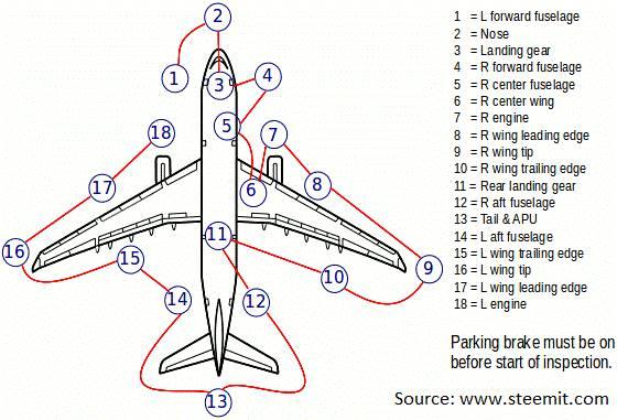Walk Around Check - Chart