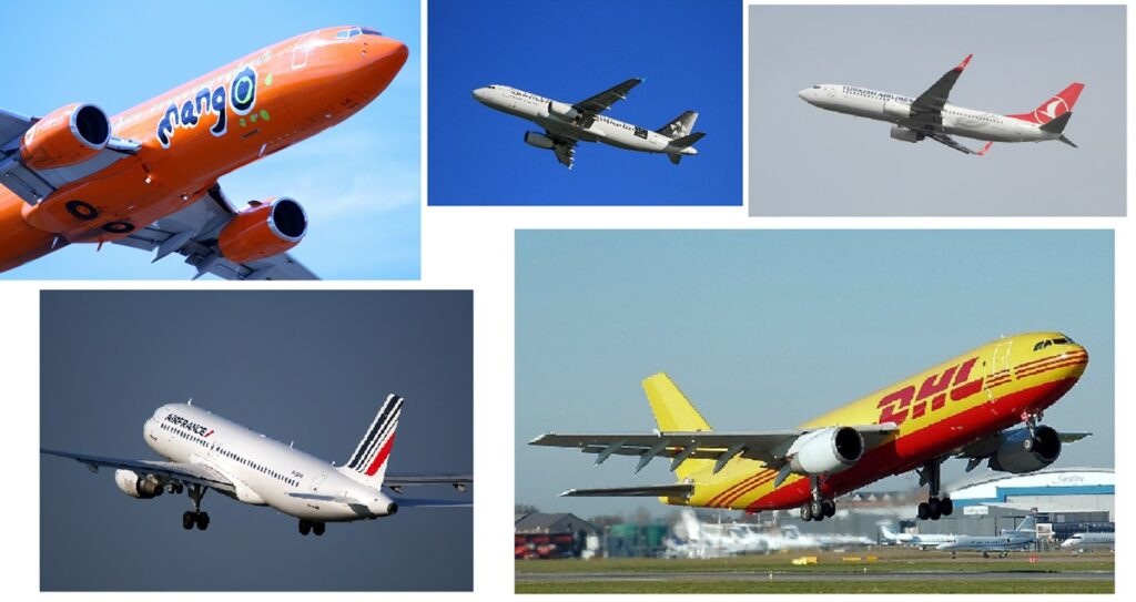 Why are airplanes usually painted white ?