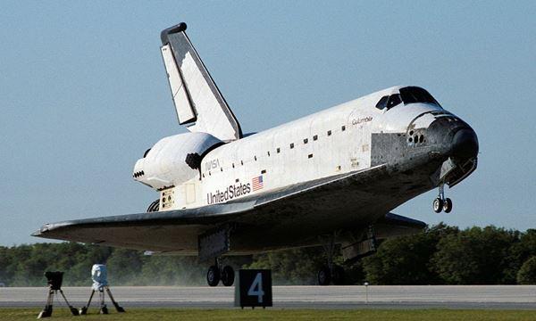 Nasa SpaceX - columbia space shutlle