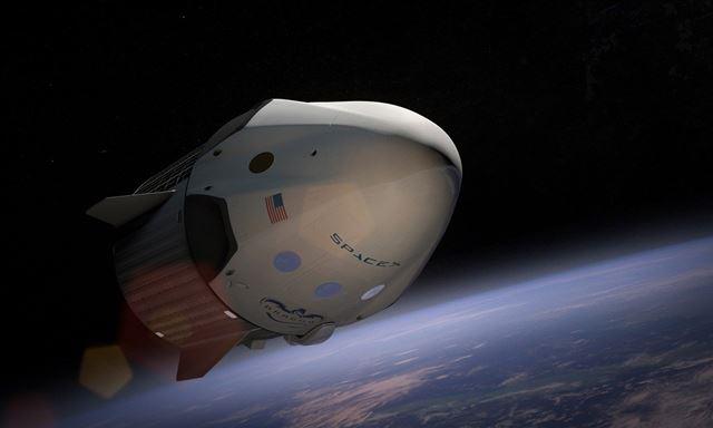 Nasa - SpaceX crew dragon launch